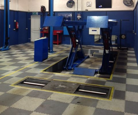 FULLY FITTED OUT MOT FACILITY</BR>To include all equipment
