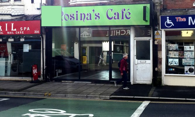 CAFE WITH A3 CONSENT TO LET
