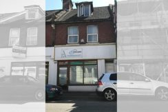GROUND FLOOR SHOP PLUS TWO FLATS FOR SALE