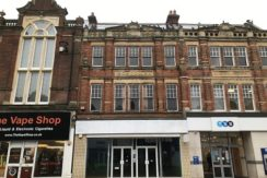 RETAIL PREMISES WITH ANCILLIARY AND ONE BEDROOM FLAT FOR SALE