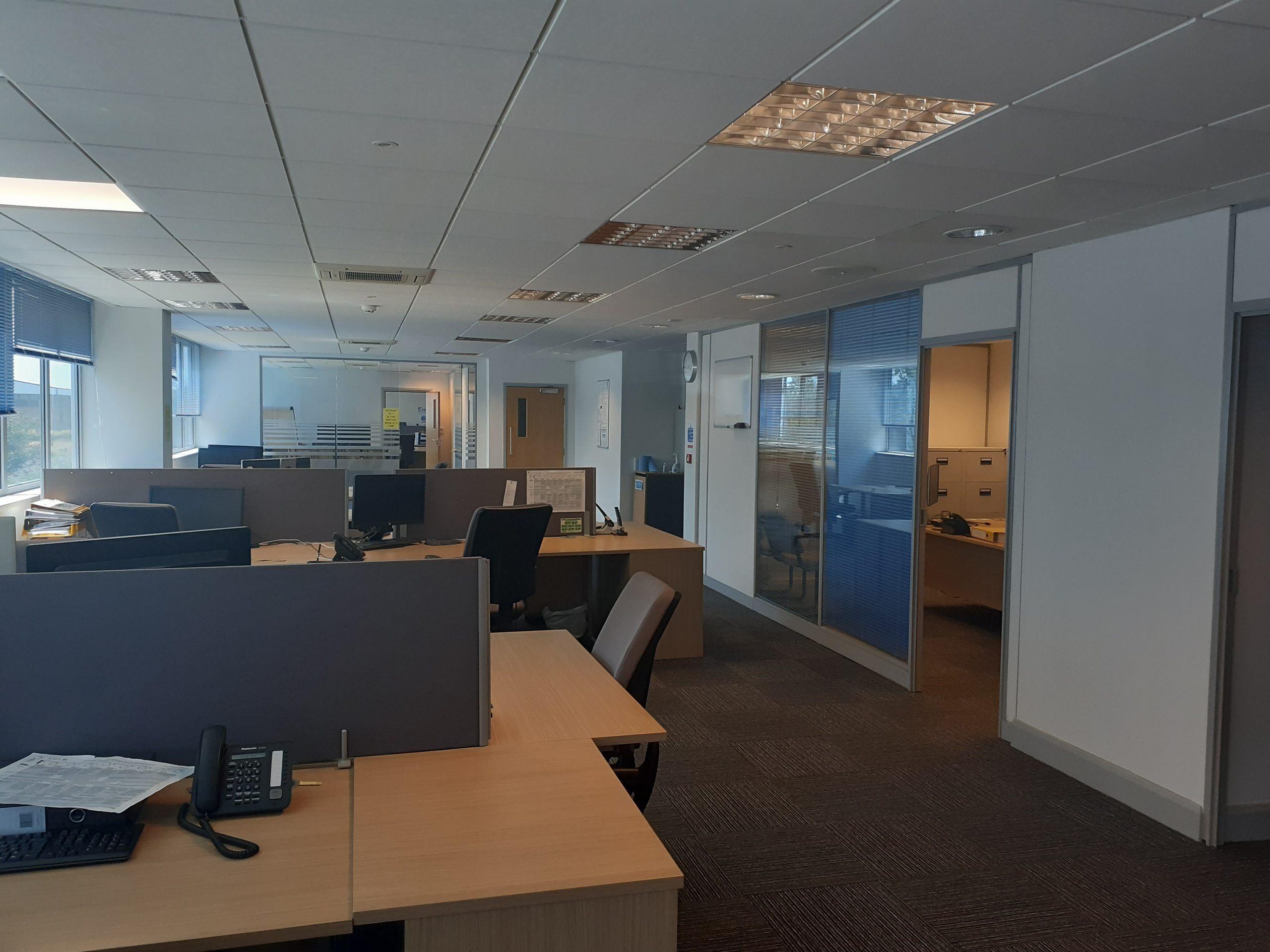 first floor left hand side office 4