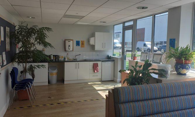 ground floor left hand side kitchenette staff area 2