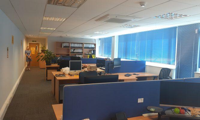 ground floor left hand side office
